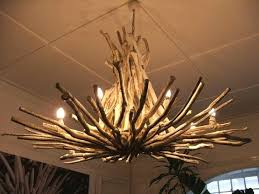 white rustic chandelier pure
