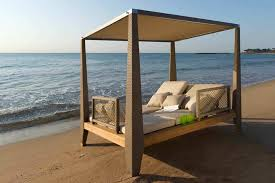 beach outdoor canopy bed