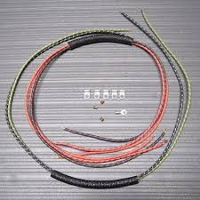 harley 1956 1957 panhead wiring harness kit usa made fl flh • aud harley 1956 1957 panhead wiring harness kit usa made fl flh 8