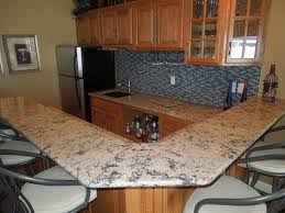 charming kitchen decoration with cabinets plus new haven wet bar cambria countertops plus sink and tile