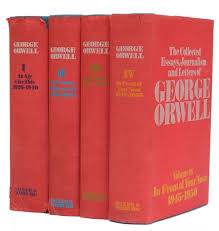 the collected essays journalism and letters of george orwell the collected essays journalism and letters of george orwell edited by sonia orwell and ian angus