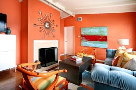 Small Picture Beautiful orange color with the contrast of blue TREND Orange