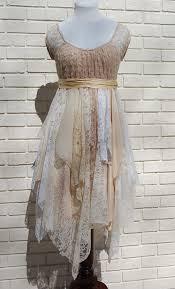 Diy Upcycled Clothing Alternative Wedding Party Dress Prom Boho Fairy Woodland