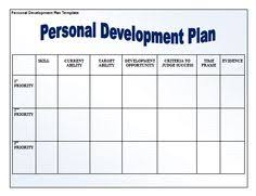 personal plan template 78 best personal development plan template images personal
