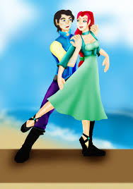 Small Picture Fables Prince Eric and Ariel by Valor1387 on DeviantArt