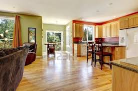 Kitchen With Living Room Design Light Wood Floor Living Room Design Living Wooden Floors Living