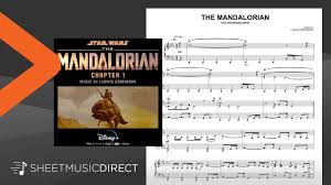Download free for ipad today. The Mandalorian From Star Wars The Mandalorian Sheet Music Ludwig Goransson Piano Solo Youtube