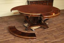 home design extra large round dining room tables 8 foot long dining room intended for