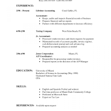 Resume Sample Templates Resume Template