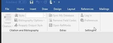Microsoft Menu Refworks Write N Cite Menu Is Frozen And Grey In Microsoft Word Ex