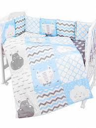 <b>Комплект в кроватку</b> Золотой Гусь <b>BABY</b> BOO голубой - купить в ...