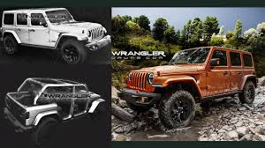 2018 jeep jl. delighful 2018 leaked renders may show 2018 jeep wrangler jl rubicon unlimited inside jeep jl d