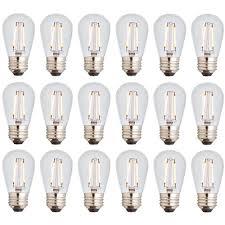 Regular Light Bulb Base Newhouse Lighting 11w Equivalent 2400k Warm White S14 Led