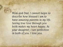 Parents Quotes From Daughter Delectable Mom And Dad I Cannot Begin To Describe How Blessed I Am To Have
