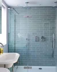 Looking for shower ideas Check out this double shower with pale
