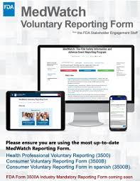 Forms For Reporting To Fda Fda