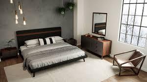modern queen bedroom sets. Nova Domus Dali Modern Grey \u0026 Walnut Bedroom Set Queen Sets