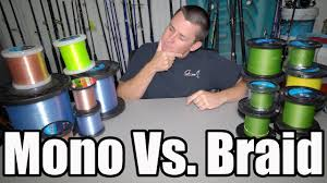 The TRUTH! Mono VS. <b>Braided Fishing Line</b>! - YouTube