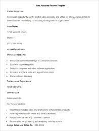 sample sales associate resumes sample sales associate resume template write your resume much