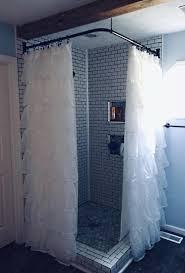 barclay corner shower rod