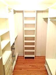 small closet shelving small walk in closet organizers narrow walk in closet ideas closet narrow closet