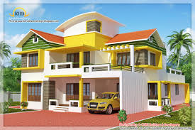 Kt Home Designs Duplex House Elevation 2700 Sq Ft Kerala House Design