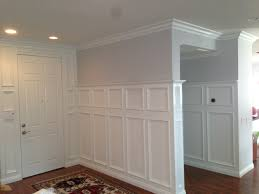 wainscoting and crown molding