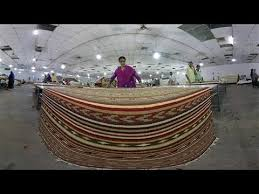 virtual reality inside an ikea carpet making factory in india