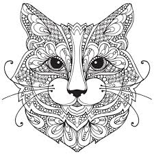 Small Picture Coloring Pages Cat Face Coloring Page Top Cat Face Coloring Pages