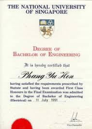 Master Degree Nus Master Degree
