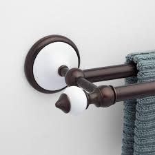 modern double towel bar. Modern Double Towel Bar 2