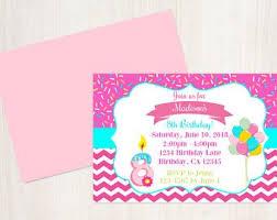 8th Birthday Party Invitations 8th Birthday Invite Etsy