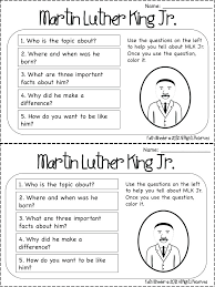 Martin King Jr Coloring Pages Free Story Mlk Worksheets Dr Luther ...