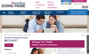 Montefiore Org My Chart Mymontefiore Org Website Patients And Visitors Manage