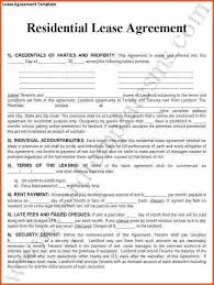 Rental Contract Template Word Rental Lease Agreement Template Lofts At Cherokee Studios