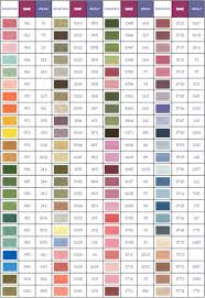 Iris Floss Color Chart Scientific Dmc Embroidery Floss Conversion Chart Cross
