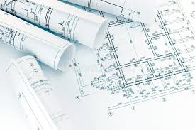 architecture blueprints. Perfect Architecture Download Rolls Of Architecture Blueprints With Floor Plan Drawing On Arch  Stock Image  Of In E
