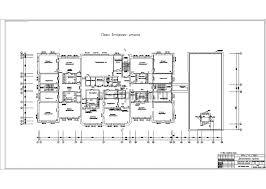 Дипломный проект ПГС детский сад на мест с плавательным бассейном 4 План 2 го этажа
