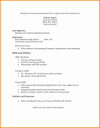 Fascinating Resume Format With No Job Experience In Job Resume Cna
