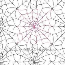 Spider Web Pattern Unique Spider Web Block Or Panto Digital Quilting Designs