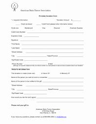 Printable Donation Form Template 50 Printable Donation Form Template Culturatti