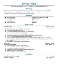 Resume Tips for Legal Billing Clerk .