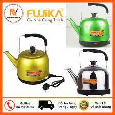 Ấm Điện Đun Nước Siêu Tốc Fujika - thân ấm inox phun sơn tĩnh điện chịu  nhiệt, bảo hành 12 tháng giá cạnh tranh
