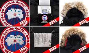 Canada Goose reveals how to spot a fake coat   Daily Mail Online