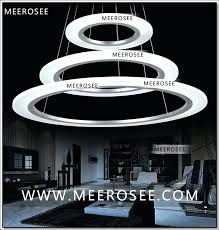 chandeliers led ring chandelier contemporary led pendant light acrylic circle ring chandelier lighting with led
