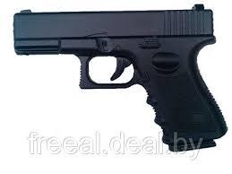 Cтрайкбольный <b>пистолет Galaxy G</b>.15 Glock металлический ...