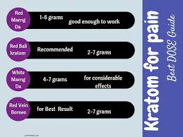 Best Kratom For Pain Relief How It Affects Your Body