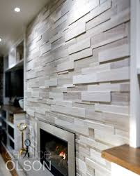 modern stacked stone 33 best fireplace design images on
