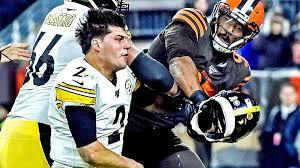 Myles Garrett helmet fight ...