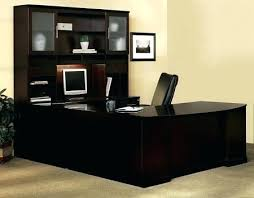 u shaped desk office depot. Office Desk U Shaped Shape Executive With Hutch 1 Depot .